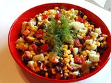 After Almost 9 Years, it's So Long with a Corn Salad Recipe