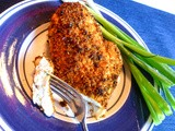 Baked Chicken Parmesan Lightened Up