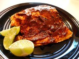 Baked Lime-Mustard Salmon