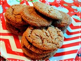 Chewy Ginger Molasses Cookies, Yum