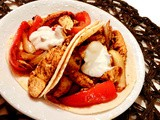 Chicken Fajitas, About the Easiest You Will Ever Make