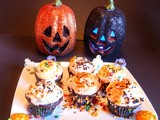 Devil's Food Cupcakes for Halloween