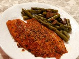 Easy Parmesan-Crusted Baked Tilapia