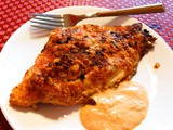 Easy Spicy Parmesan Baked Catfish