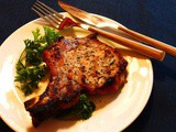 Grilled Beer-Battered Pork Chops
