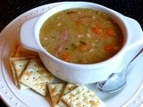 Herbed Navy Bean Soup