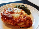 Lightened up Chicken Parmesan