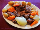 Old Fashioned Chuck Roast w/Potatoes, Carrots and Onions