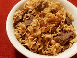 Old-fashioned Midwest Beef and Noodles