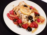Orange Roughy w/Roasted Grape Tomatoes