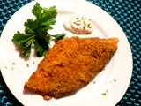 Oven-fried Cornmeal Battered Catfish