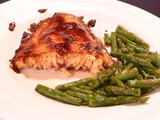Pineapple and Soy-Glazed Salmon