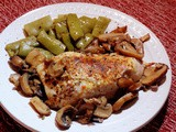 Roasted Robusto Italian Chicken Breasts with Mushrooms