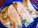 Shrimp Tacos with Cole Slaw