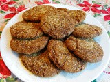 Sprakling Chewy Ginger Cookies with a Twist