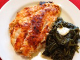 Ummm, mmm! Baked Orange Roughy Spread with Horseradish ~ Dijon and Parmesan