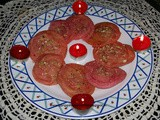 Pakatle gulab chirote / rose shaped indian flaky pastry in sugar syrup / पाकातले गुलाब चिरोटे
