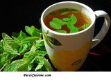 Hot or Cold brew of Minty Green Tea