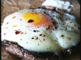 Eggs, Parmesan & Portobello Mushrooms