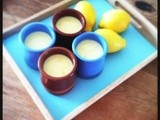 Lemon Posset Pots