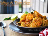 Bandhakopi Chingrir Torkari/Ghonto/Dalna Or Bengali Style Prawn & Cabbage Curry