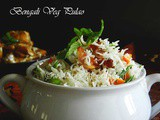Bengali Ghee Bhat/Bengali Sweet Vegetable Polao/Pulao