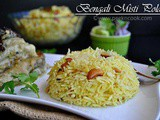 Bengali Misti Polao Or Bengali Sweet Yellow Pulao