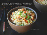Chinese Restaurant Style Chicken Fried Rice