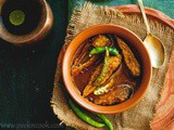 Foli Macher Jhol or Bronze Feather Back Fish Runny curry
