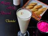 Indian Color Festival-Holi Special Drink Thandai