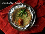 Indian Potato Flatbreads Or Quick & Easy Aloo Paratha