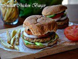 Indian Style Chicken Burger Recipe