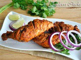 Tandoori Chicken or Tandoori Murgh- Indian spiced grilled chicken