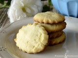 Biscotti all'arancia e alla crema frangipane - Cookies with orange and frangipani cream