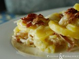 Gratin di patate - Gratin of potatoes