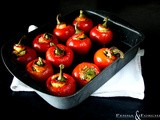 Peperoni ripieni ai sapori del Mediterraneo - Peppers stuffed with the flavors of the Mediterranean