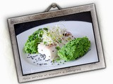 Pesce persico al lemongrass e sesamo nero - Perch with broccoli lemongrass and black sesame