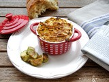 Spezzatino di manzo alle mele gratinato in cocotte - Beef stew with apples gratinated in ramekins