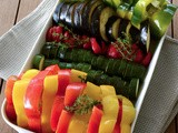Verdure al forno - Baked vegetables