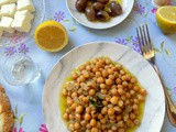 Baked Chickpeas with Rosemary