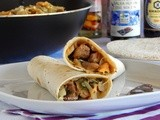 Chinese Rolls with Pork, Mushrooms and Cabbage
