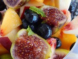 Fresh Fig Fruit Salad
