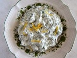 Greek Yogurt Dip with Herbs