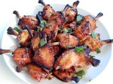 Lollipop Chicken Wings with Hoisin Sauce and Ginger