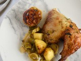 Oven-Baked Chicken with Dill, Leeks and Potatoes