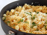Pasta with Milk and Greek Kefalotyri Cheese