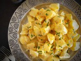 Potato Salad with Herbed Citrus Vinaigrette with Trikalinos Bottarga Powder