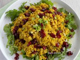 Quinoa with Turmeric and Cranberries