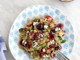 Summer Salad with Quinoa, Cherries and Feta | C2 Magazine
