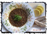 A Good Ole Bowl of Whole-Grain Indian Lentils (Masoor Daal)